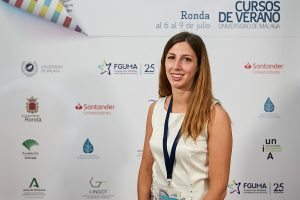 Sara Bianchi (coordinadora del SSPA Southern Sparsely Populated Areas)